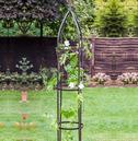 Large Classic Metal Garden Obelisk - Hammerstone Bronze