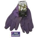 All Rounder Gardening Gloves - Medium - Purple - Briers