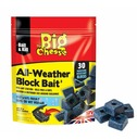 Mouse and Rat Killer - 30 Block Pack All Weather Bait Blocks