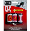 Fly Paper - Sticky Fly Trap - Nippon - 3 Pack