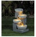 Cascading 4 Tier Water Feature - Charles Bentley