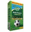 Gro-Sure Multi-Purpose Grass Lawn Seed - 10m2 + 30% Extra Free