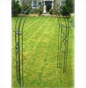 Traditional Imperial Garden Rose Arch - Poppy Forge - Solid Bar Construction