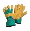 Kids Rigger Gardening Gloves - 8-12 yrs - Green - Briers