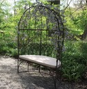 Old Rectory Domed Arbour Anitque Brown