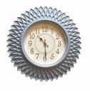 Large Radiant Outdoor Wall Clock 56cm - Petal Design
