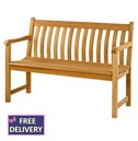Roble Broadfield Wooden Bench - 4ft