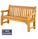 Roble Wooden Park Bench - 5ft