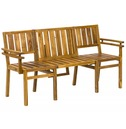 Seattle Multi-Functional Bench - 2 Seater with Table or 3 Seater