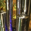 Stainless Steel 5 Tube Columns Water Feature