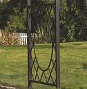 Wrenbury Round Top Metal Garden Arch